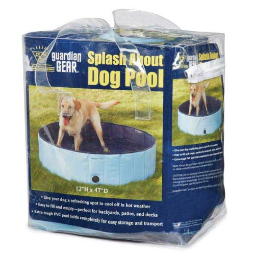 Artikelbild: Petedge ZW3188 10 92 W-chter Gang Splash About Dog Pool Med Sky Blue