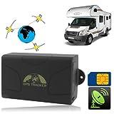 TK-104 - Localizador GPS con alarma antirrobo para coches, barcos, motos