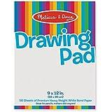 Melissa & Doug 4108 Drawing Pad (9-inch x 12-inch)