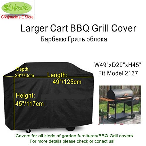 Generic 49&Quot; Larger BBQ Grill Cover,Water Proof BBQ Cover with Ribbons, BBQ Grill Protective Cover,