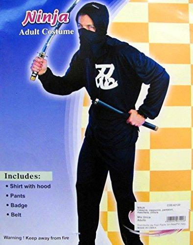 Den Karate Kostüm Japanischen - Kostüm Ninja 62120