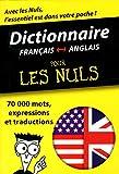 Dictionnaire Français-Anglais pour les nuls