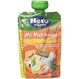 Hero - Bolsita De Fruta Nanos 100 g Merienda Yogur Plátano Fresa - [pack de 9]