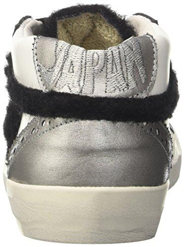 Ishikawa 1255, Sneaker a Collo Alto Unisex-Adulto Bianco