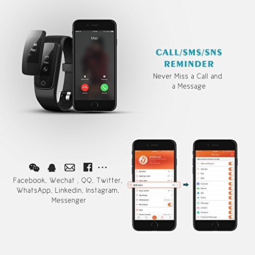 Fitness Tracker, Mpow Bluetooth 4.0 - 6