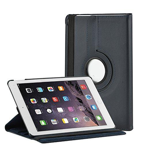 Preisvergleich Produktbild SELECTEC iPad Pro Hülle iPad Pro 9.7 Zoll Hülle Schutzhülle Tasche für Apple iPad Pro 9.7 Zoll 360 Grad drehbar-Blau