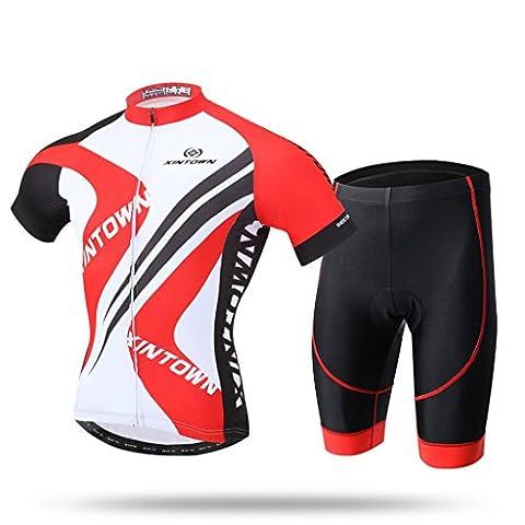 Male Power Costume Ranger - XINTOWN Summer Mens Vélos à vélo Veste