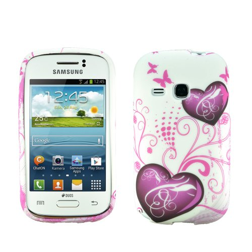 Image of zkiosk Star 'Design silicone case cover for Samsung Galaxy Young GT-S6310 N