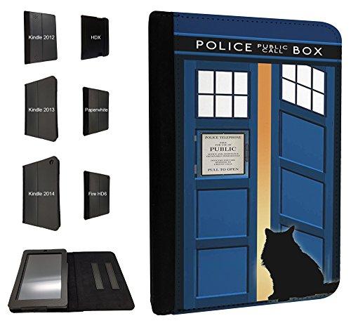 453-Doctor Who Tardis Door Cat Open Call Box 2014-Amazon Kindle Fire