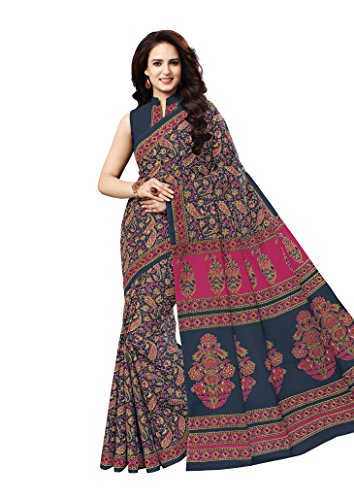 Vinay's Sarees Pure Cotton Kalamkari Print Saree For Women with Blouse Piece...