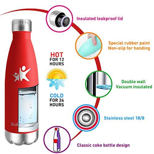 Zoom IMG-2 kollykolla bottiglia acqua in acciaio