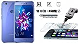 M.G.R.J Tempered Glass Screen Protector with 0.33mm Ultra Slim 9H Harness, 2.5D Round Edge, Crystal Clear for Huawei Honor 8 Lite