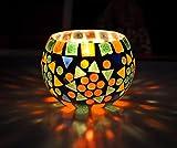 vetro tealight tavolo decorativo Friends portacandele Regalo 8 Cm