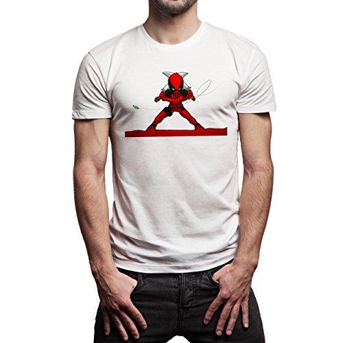 Deadpool-Background.jpg Herren T-Shirt Weiß