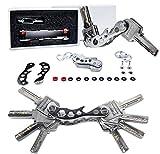 Schlüsselhalter von BSTcentelha verhindert ausgebeulte Taschen und kann bis zu 14 Schlüssel halten