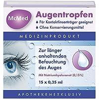 Mcmed Augentropfen Einzeldosispipetten 15X0.35 ml preisvergleich bei billige-tabletten.eu