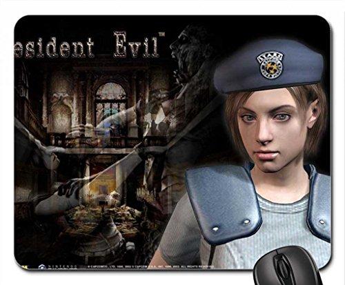 Jill Valentine Resident Evil Mauspad, Mousepad (25,9x 21,1x 0,3cm) (Valentine-video-spiel)