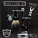Best Badger Brush With Stands - Christmas Gift Luxury Wet Shaving Gift Set Kit Review