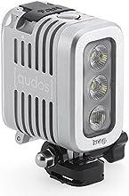 Knog 11626 – Equipo de iluminación para cámaras de acción (400 lúmenes), color plateado (importado)
