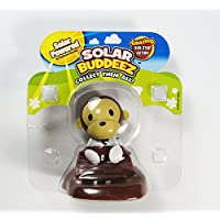 Solar Buddeez Powered Dancing Collectable Monkey Motion Dashboard Car Toy Gift