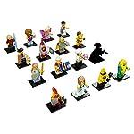 Lego-Minifigurine-Legno-Series-17-Multicolore-71018