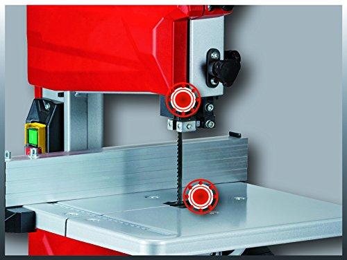 Einhell Bandsäge TC-SB 200/1 (250 W, max. Schnitthöhe 80 mm, Durchmesser Absauganschluss 36 mm, Parallelanschlag, Schiebestock) - 5