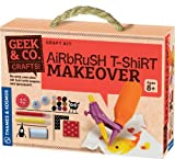 Geek & Co. Craft Airbrush T-Shirt Makeover by Geek & Co. Craft