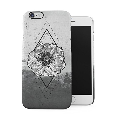 Vintage Floral Flowers Polka Dots Pattern Indie Tumblr Boho Shabby Chic Apple iPhone 6 PLUS , iPhone 6S PLUS Snap-On Hard Plastic Protective Shell Case Cover Custodia Flower Blossom