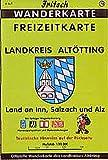 Fritsch Karten, Nr.78, Landkreis Altötting, Land an Inn, Salzach und Alz (Fritsch Wanderkarten 1:50000, Band 78)