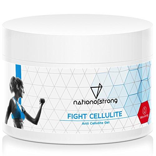 Fight Cellulite | 225ml straffende Crème mit Koffein für Po, Beine, Arme, Bauch | wärmt, aktiviert die Haut zur optimalen Aufnahme der Wirkstoffe | unterstützt Behandlung von schwachem Bindegewebe