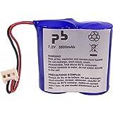 Microbatt - Pile alarme BATLI06 MB 7.2V 6.5Ah - Unité(s)