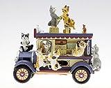 Spieluhrenwelt MMM GmbH, il mondo dei carillon, 857726 vagone cremeria con gatti, il regalo ideale per compleanno, onomastico, come souvenir, sorpresa, come oggetto da collezione….