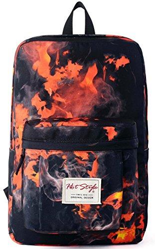 Imagen de hotstyle hoppor fuego  escolar 24l  impermeable para portatil de 15 inch  rojo alternativa