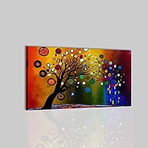 Quadri moderni astratti olio su tela dipinti a mano colori for Amazon quadri moderni astratti