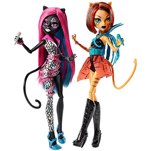 Monster High Fierce Rockers Catty Noir and Toralei Exclusive by Mattel