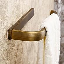 weare Home Fácil Vintage Retro Bronce cuarto de baño accesorios Anillo toallero de pared Lunes extra