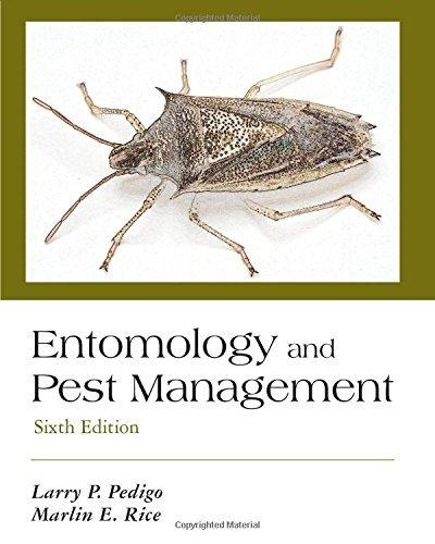 Entomology and Pest Management, Sixth Edition by Larry P. Pedigo (2014-11-24)
