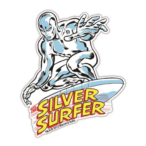 Magnet Silver Surfer Marvel Comics - Kühlschrankmagnet - Lizenziertes Originaldesign - LOGOSHIRT