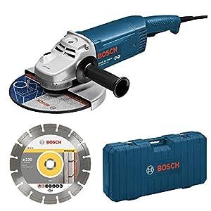 Bosch Professional – Amoladora 230 Jh Disco Maletin Bosch 2200 W
