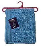 I LIKE® Handtücher mit Kleiderbügel Lavabo (50 x 90 cm) blau