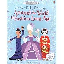 Sticker Dolly Dressing Around the World Around The World & Fashion Long Ago