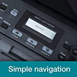 Brother MFC-L2710DW A4 Mono Laser Printer, Wireless and PC Connected, Print, Copy, Scan, Fax and 2 Sided Printing