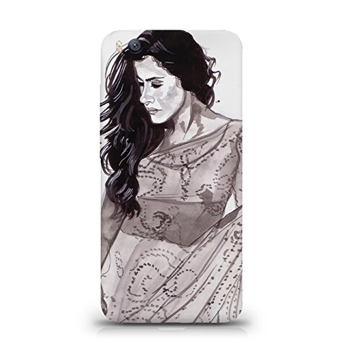 Kajol in saree sketch design Xiaomi mi max all side printed hard...