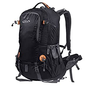 f972cf99ec G4Free 45L Outdoor Sports Camping Hiking Waterproof Backpack Rucksack  Mountaineering Bag for Traveling Trekking with Rain