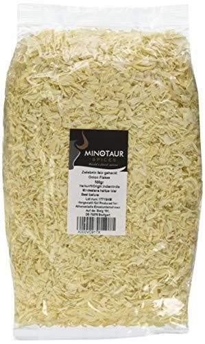 Minotaur Spices | Zwiebeln fein gehackt | 2 X 500g (1 Kg) | Zwiebel Flakes getrocknet