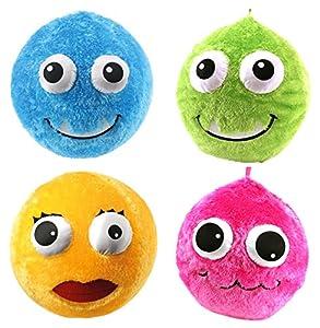speel Goed Co de 1/17/11/22-fluffies Fuzzy Ball, schreibwaren, 60cm, 4Colores