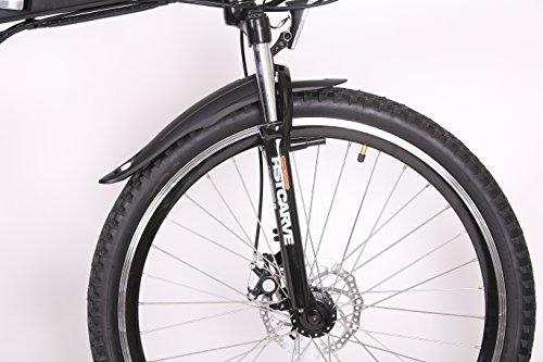 FSE VPEH2600 Vélo électrique Pliant Mixte Adulte, Noir