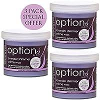 Hive 3pcs depilatoria lavanda Shimmer cera di Creme per viso corpo Bikini cera depilazione delle gambe 425g ogni Pack offerta speciale