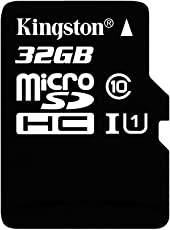 Kingston 32GB mSD Class 10 UHS-I w/SD, SDC10G2_32GB