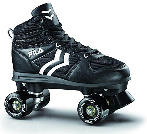 Fila Uomo Verve Roller Skate, Nero, 36